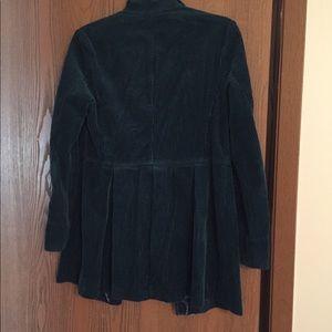 J. Jill Teal corduroy jacket XS